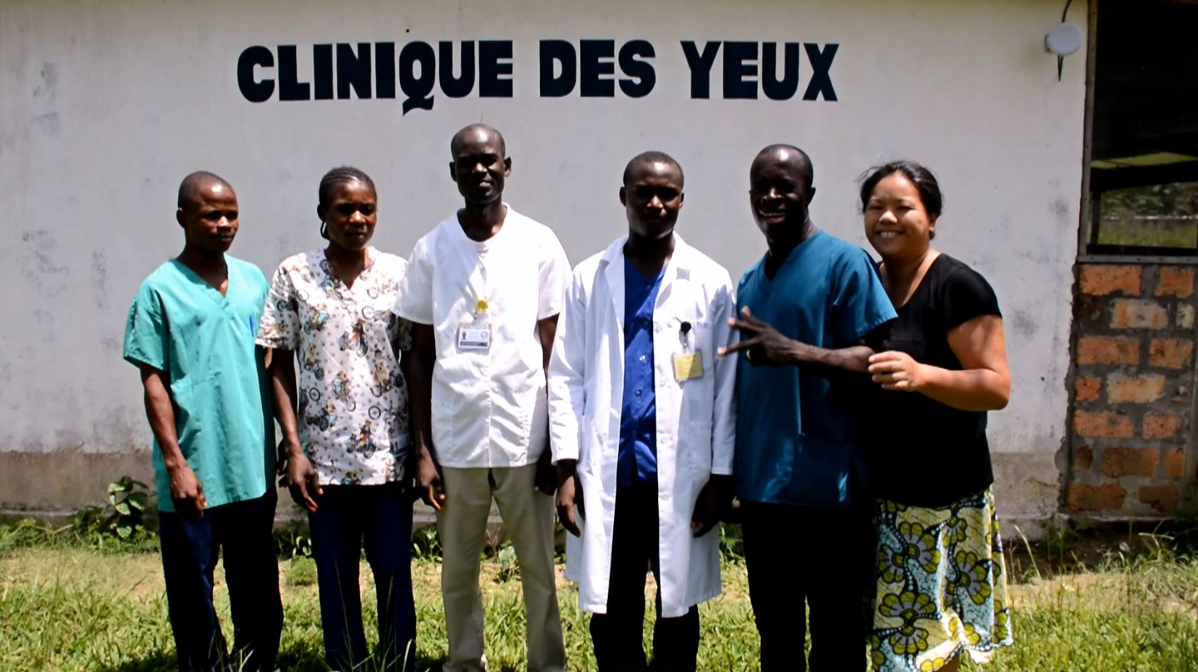 New Sight Congo Clinic Team